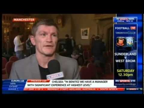 Hatton On Senchenko No Show At Press Conference
