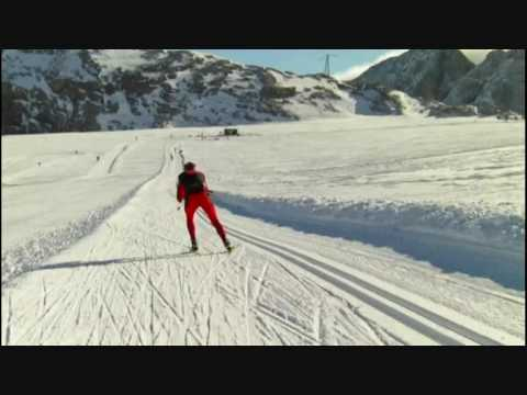 xc ski - cross country skiing // a training day.