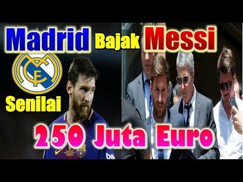 TERUNGKAP! Real Madrid Coba Bajak Lionel Messi Senilai 250 Juta Euro
