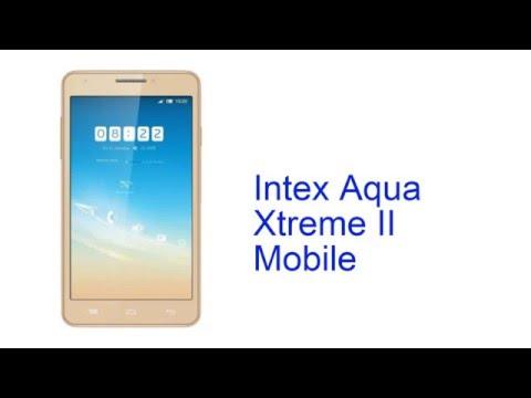 Intex Aqua Xtreme II Mobile Specification [INDIA]