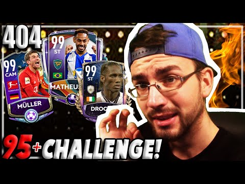 95+ CHALLENGE + DISCARD!! OMG!! 😱🔥 FIFA MOBILE 20 #404