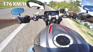 8. 2018 TRIUMPH Street Triple RS || [RAW POV] Review, 0-100 TEST & Overview (ENG.SUBS)