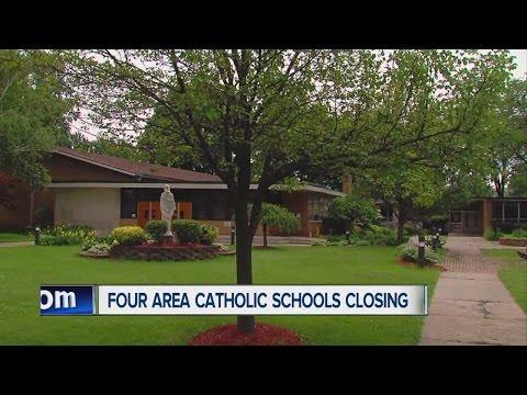 Four area Catholic schools closing