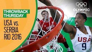 Download Video USA vs Serbia - Basketball | Rio 2016 - Condensed Game | The Golden Generation MP3 3GP MP4