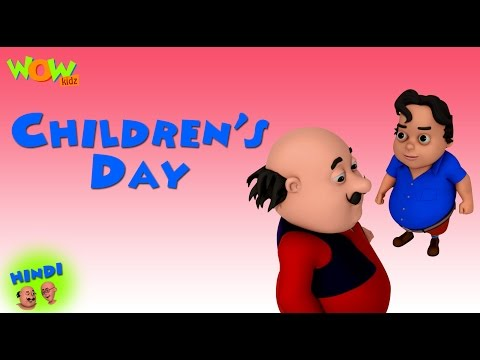 Video Children's Day- Motu Patlu in Hindi WITH ENGLISH, SPANISH & FRENCH SUBTITLES download in MP3, 3GP, MP4, WEBM, AVI, FLV January 2017