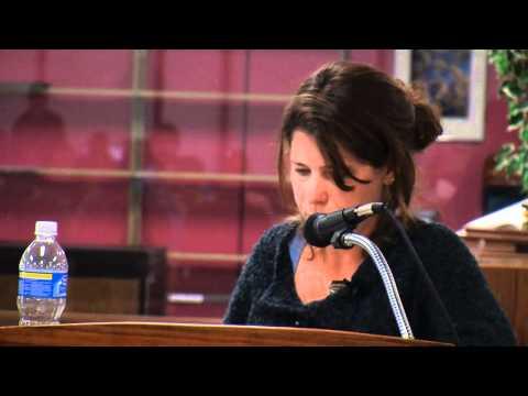 Laura Pritchett - Guest Speaker - Autumn @ Adams 2010