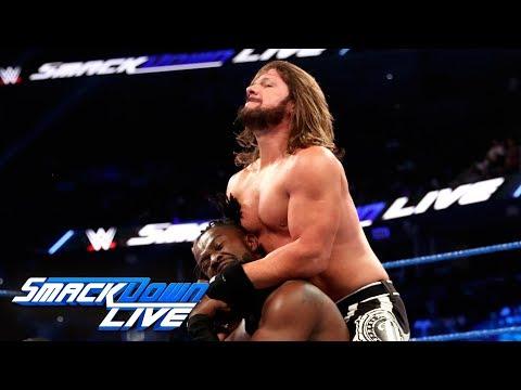 Kofi Kingston vs. AJ Styles -- Champion vs. Champion Match: SmackDown LIVE, July 30, 2019