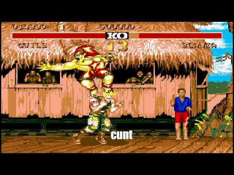Street Fighter Atari