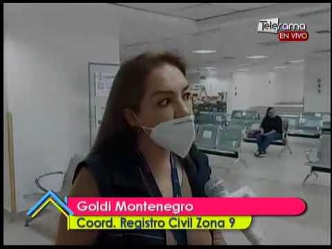 Registro Civil de Quito implementa nuevas medidas de bioseguridad