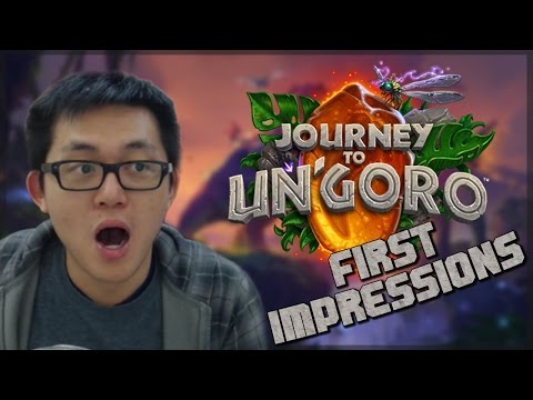 JOURNEY TO UN'GORO REVEALED!!! - First Impressions and Predictions (видео)