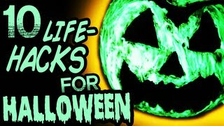 10 Amazing Halloween Life Hacks You Should Know! - YouTube