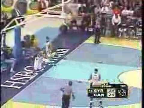 2006 Syracuse Basketball Dunks