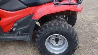 10. 2012 Honda Rancher 420 4x4 ESP walk around