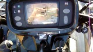 4. 2009 Honda Foreman Rubicon with Power Steering and GPScape