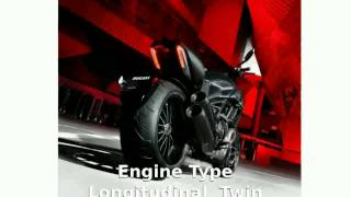 10. 2014 Ducati Diavel Dark -  Top Speed Specs
