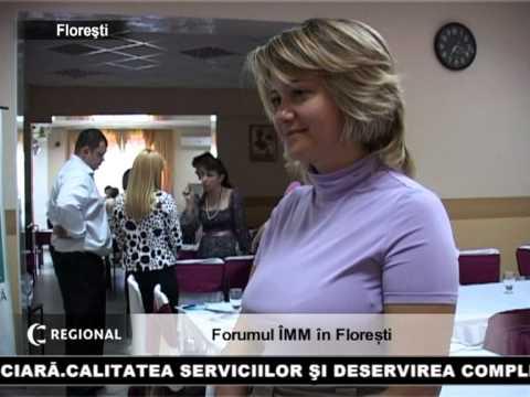 Forumul ÎMM în Floreşti