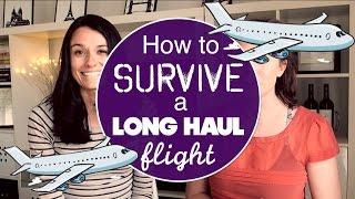 Video HOW TO SURVIVE A LONG HAUL FLIGHT w/ Love and London MP3, 3GP, MP4, WEBM, AVI, FLV Juli 2018
