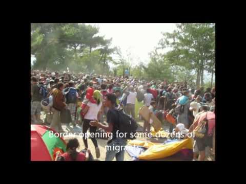 Ausschreitungen in der Erstaufnahmestelle für Flüchtlinge in Suhl am 19.08.2015