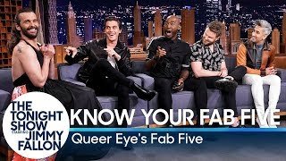Video Know Your Fab Five with Queer Eye's Fab Five MP3, 3GP, MP4, WEBM, AVI, FLV September 2019
