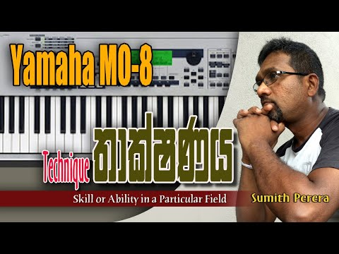 Yamaha MO8 Overview / Yamaha MO8 Specs / Hammer Effect Weighted Action Keyboard /Synthesizer
