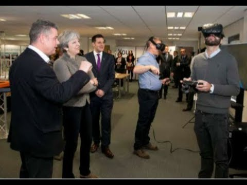 PM Theresa May's visit to The Oil & Gas Technology Centre