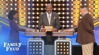 Video How big is Steve's WHAT? | Family Feud MP3, 3GP, MP4, WEBM, AVI, FLV September 2018