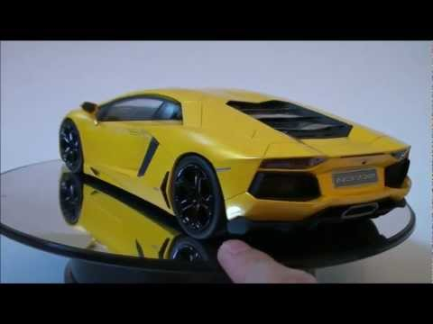 1/18 MR model 2011 Lamborghini Aventador (Giallo Orion) [2 of 2] Review