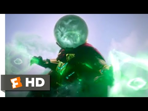 Spider-Man: Far From Home (2019) - Mysterio vs. Hydro-Man Scene (1/10) | Movieclips