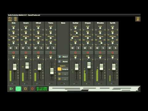 Video of Audio Evolution Mobile DAW
