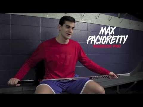 Dynasty AX1 LT Stick feat. Max Pacioretty   Warrior Hockey