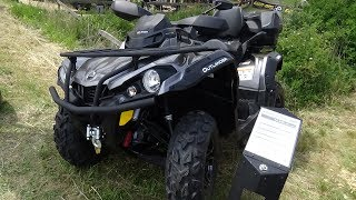 3. 2017 Can-Am Outlander MAX XT 570 - Exterior and Interior - Abenteuer Allrad Bad Kissingen 2017