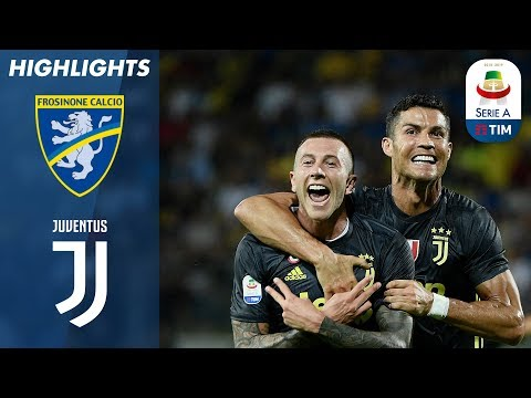 Frosinone 0-2 Juventus | Late Ronaldo & Bernardeschi Goals In Fifth Straight Juve Win | Serie A