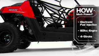 10. 2015 Polaris RZR 170 EFI Product Walk Around - Polaris RZR Sport Side by Side ATV