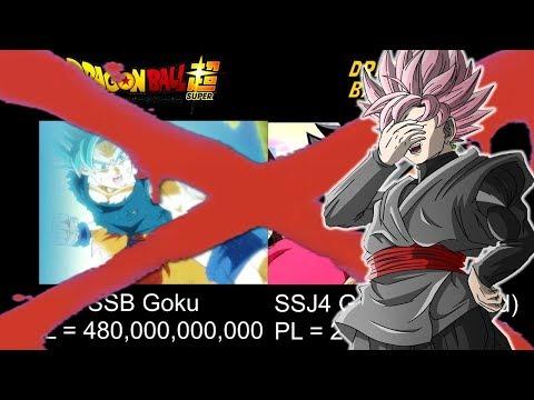 Dragon Ball Super VS Dragon Ball GT Power Levels DEBUNKED! (видео)