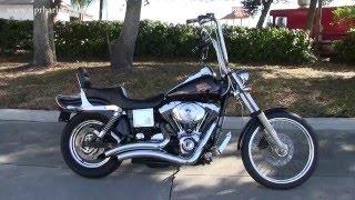 9. Used 2001 Harley Davidson FXDWG Dyna Wide Glide