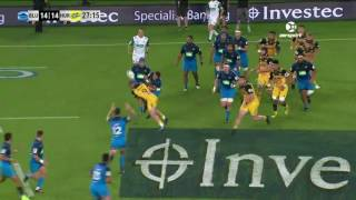 Blues v Hurricanes Rd.8 Super Rugby Video Highlights 2017