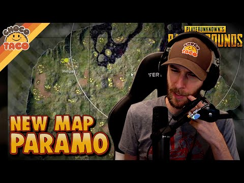 chocoTaco Tests NEW MAP: PARAMO - PUBG Solo Squads Gameplay