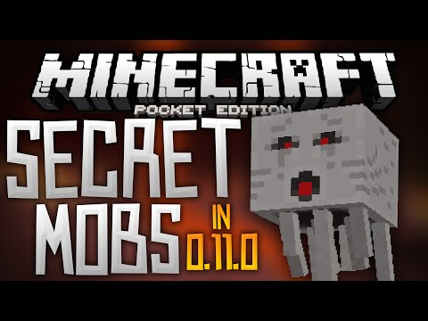 SECRET MOBS in 0.11.0?!?! – Ghasts, Magma Cubes, and More! – Minecraft Pocket Edition 0.11.0 Beta