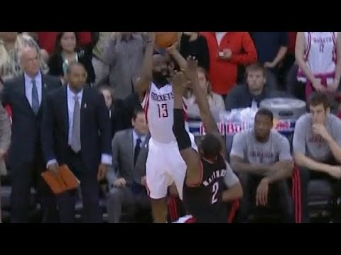 James Harden's game-tying three to force overtime vs. Blazers