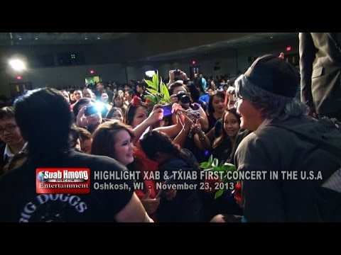 Suab Hmong E-News:  HIGHLIGHT Xab & Txiab first concert in the U.S.A. on November 23, 2013
