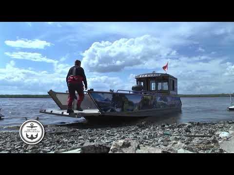 Репортаж обиспытаниях нового судна аппарельного типа отАнреевской судоверфи