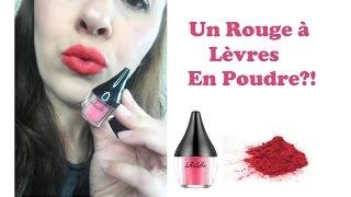 Test du Rire Lip Powder Rouge à Lèvres en Poudre - YouTube