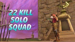 NEW BULLSEYE TFUE SKIN! 22 KILL SOLO SQUAD GAME! (1.6k WINS 39k KILLS)