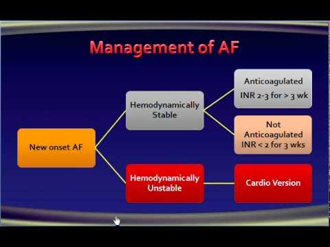 8 atrial fibrillation Management