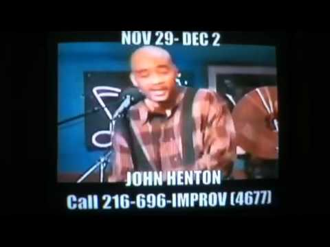 John Henton Cleveland Improv Promo