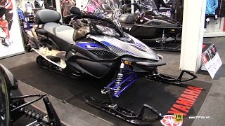 8. 2016 Yamaha RS Venture TF LE Sled - Walkaround - 2015 Toronto Snowmobile & ATV Show