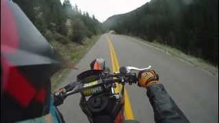 10. KTM 560 SMR and KTM DUKE II AROUND VAIL, CO