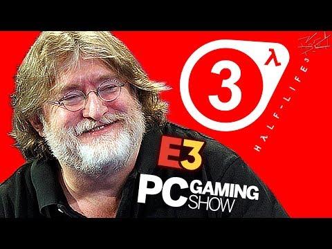 Конференция PC Gaming Show - E3 2018 - HALF-LIFE 3 и многое другое