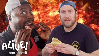 Video Brad Makes Whole Hog BBQ with Rodney Scott | It's Alive | Bon Appétit MP3, 3GP, MP4, WEBM, AVI, FLV Agustus 2018
