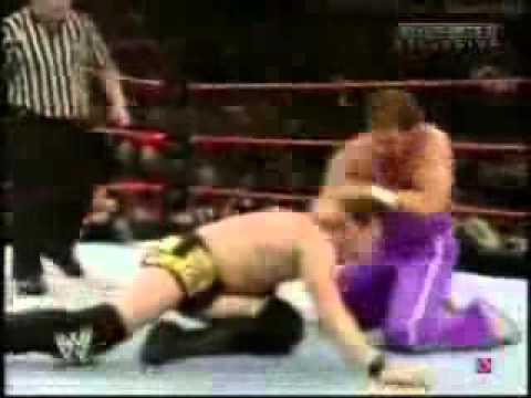 Alex Shelley Vs  Simon Dean WWE Heat 06.06.2005
